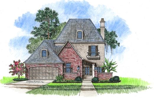 Saint loupe acadiana home design for Acadiana home design