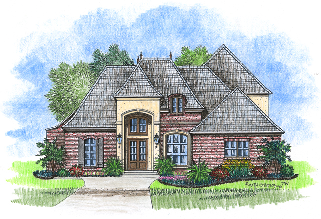 Chateaubriant acadiana home design for Acadiana homes