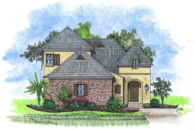 Talaud acadiana home design for Acadiana homes