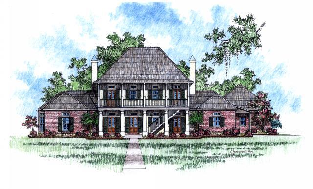 Acadiana acadiana home design for Acadiana homes