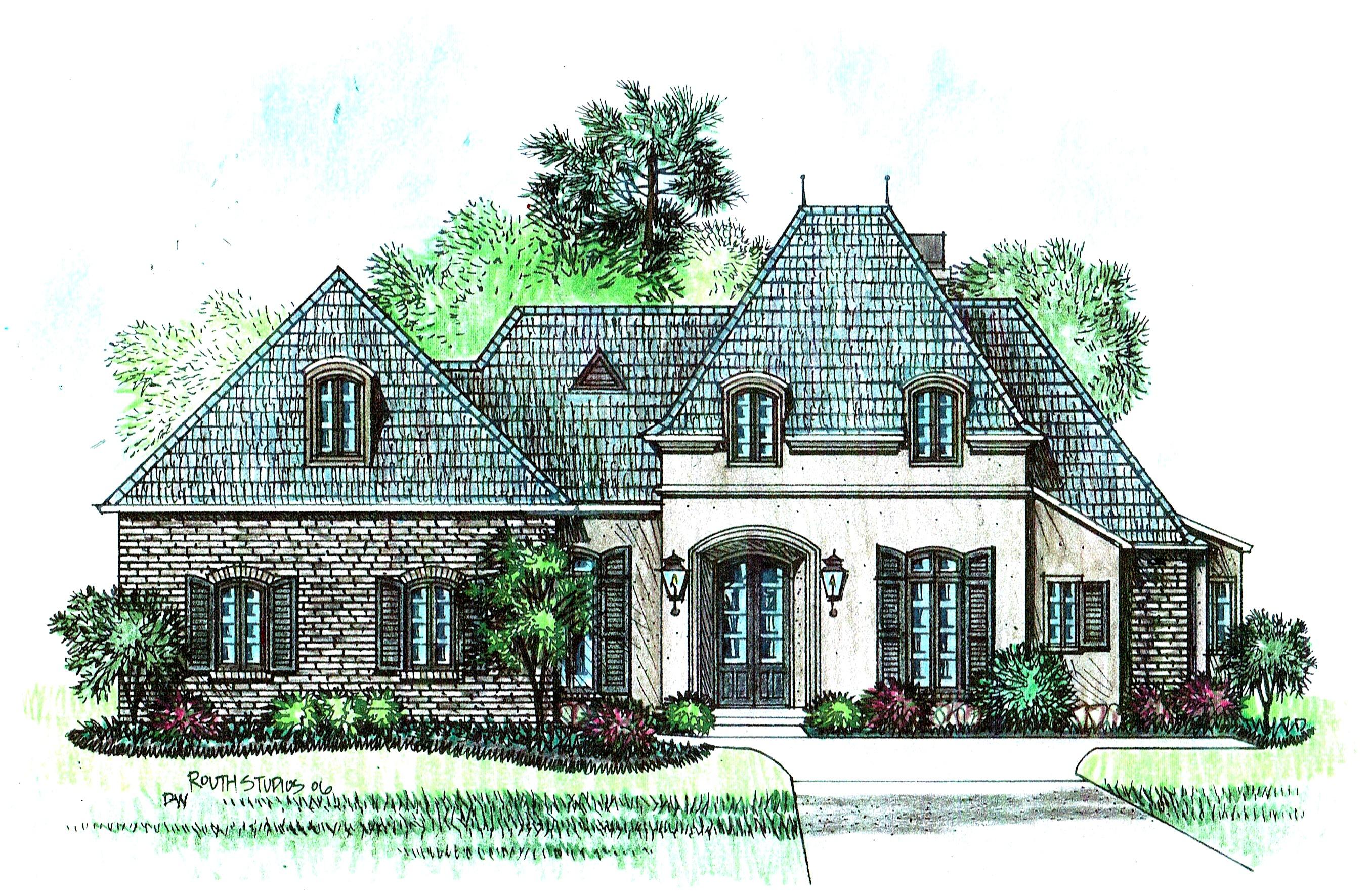 Castlelane acadiana home design for Acadiana homes