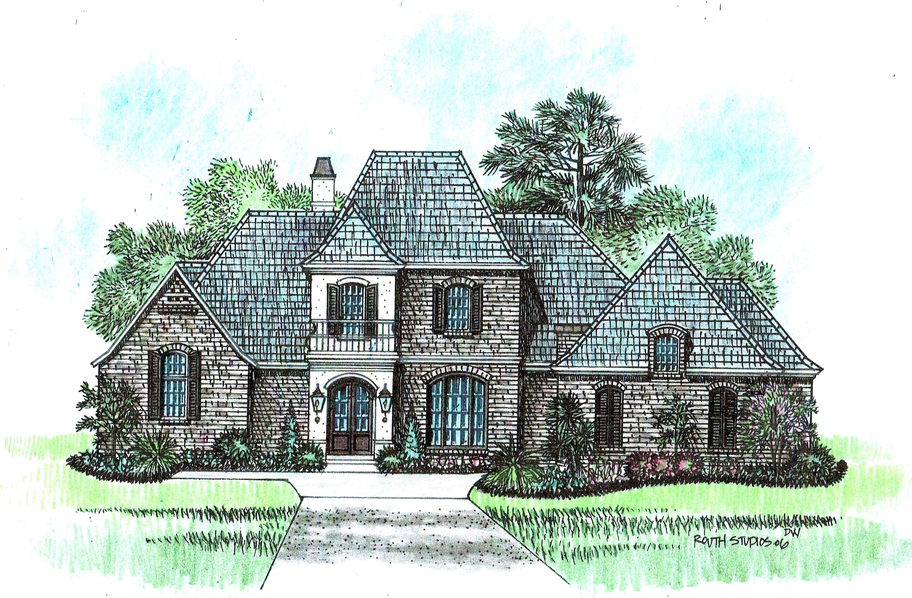 Champagne acadiana home design for Acadiana homes
