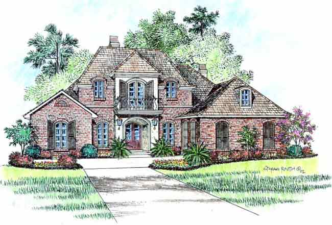 Chateau lafite acadiana home design for Acadiana homes