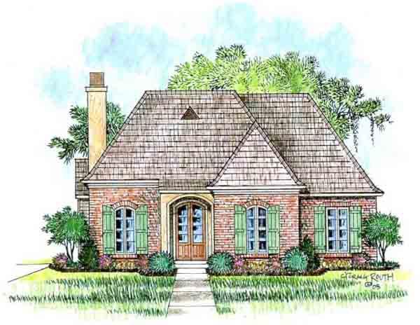 Normandy acadiana home design for Acadiana home design