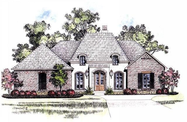 Brittany acadiana home design for Acadiana home design