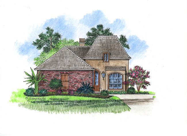 Lemans acadiana home design for Acadiana home design