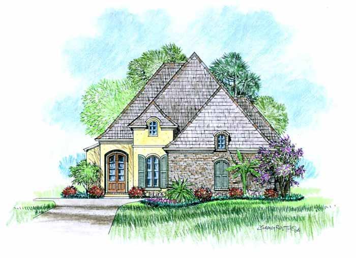 Brie acadiana home design for Acadiana home design