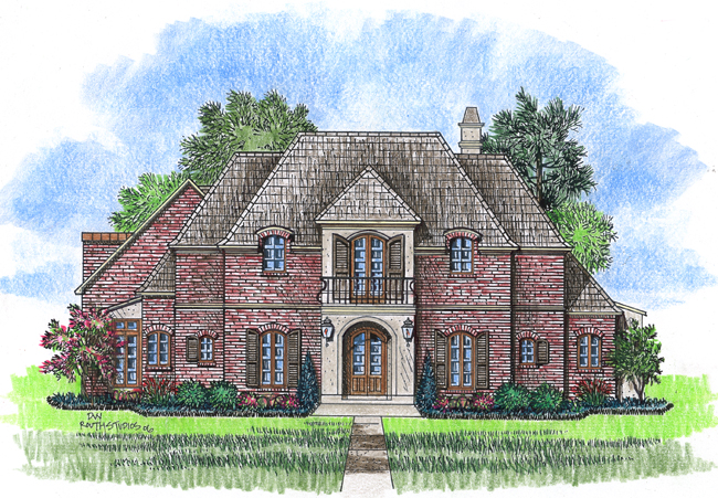 Chateau usse acadiana home design for Acadiana home design