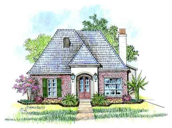 Burgundy acadiana home design for Acadiana home design