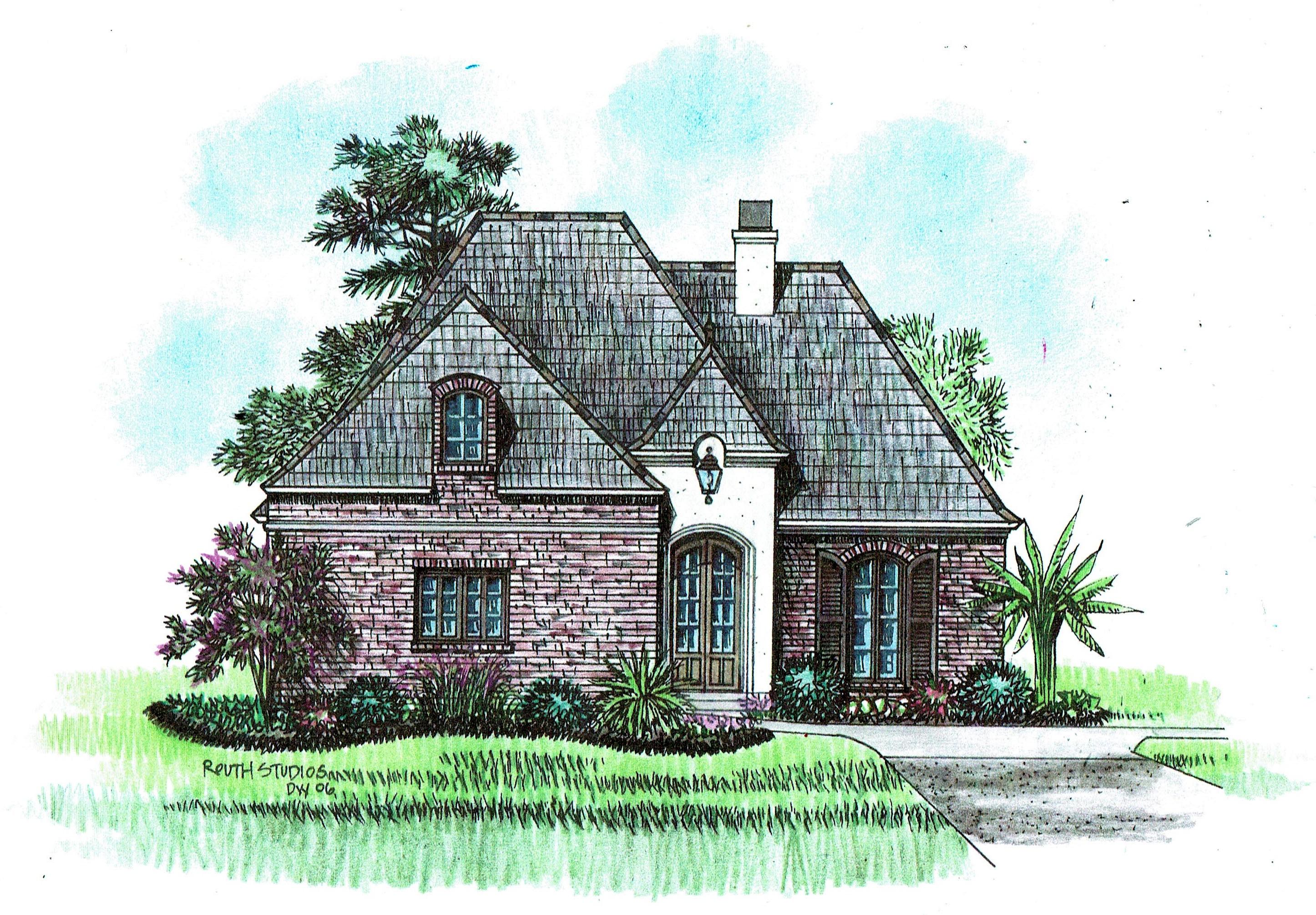 2500 3000 sq ft acadiana home design for Acadiana home design