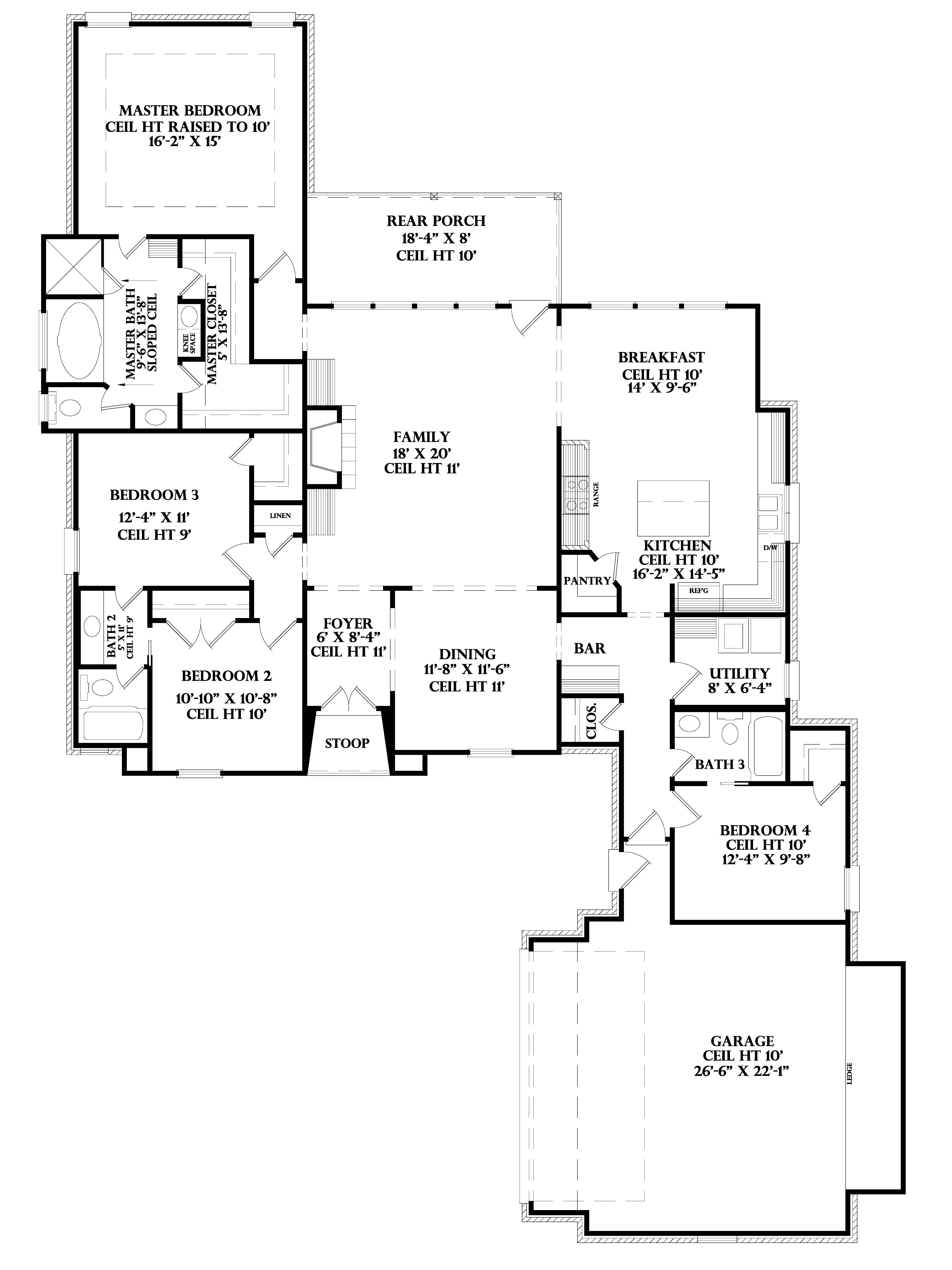 Gascony – Acadiana Home Design